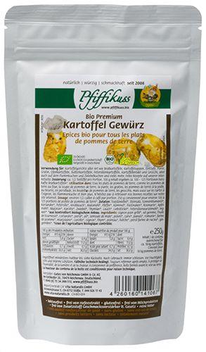 Kartoffel Gewürz 250g Nachfüllbeutel