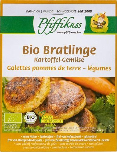 Bio Kartoffel Bratling