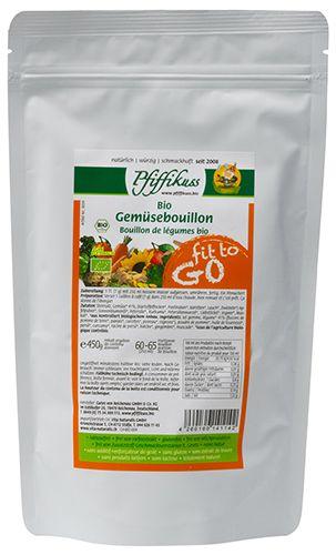 Bio Gemüsebouillon 450 fit to go