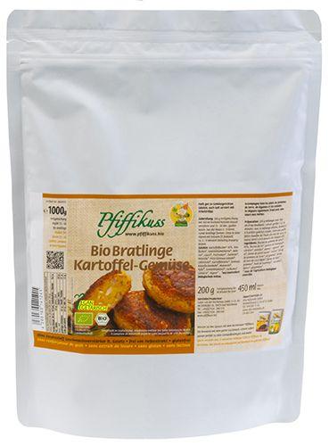 Kartoffel-Gemüse-Bratling Bio 1 Kilo Beutel
